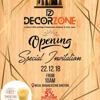 All your decor needs in 1 zone!!!