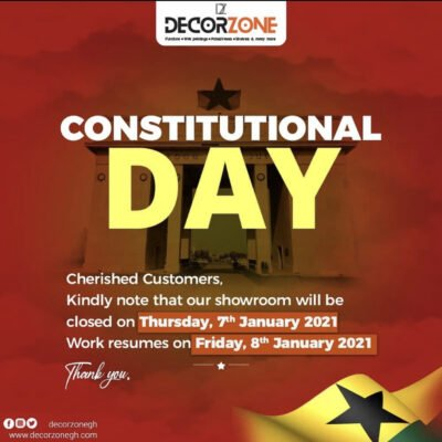 CONSTITUTIONAL DAY HOLIDAY